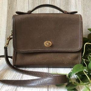 Vintage Coach Court Top Handle Crossbody Bag 877c161fef7c8